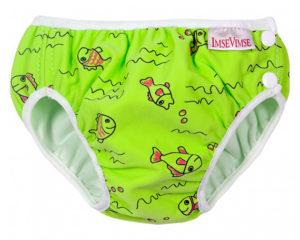 Imsevimse úszópelenka Zöld halacskás