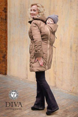 Moka téli babahordozó kabát 4 in 1 funkcióval-Diva Milano