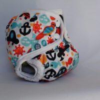 Huncut kalózos T-tomi mosható pelenka külső