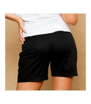 Kismama rövid nadrág Iza-fekete