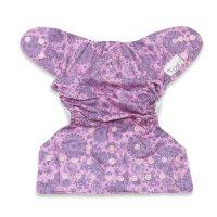 Violet Iced Butterfly Fidella mosható pelenka külső