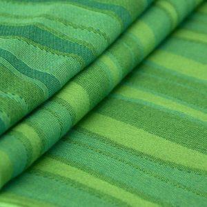 Didymos babahordozó kendő Zöld hullámok