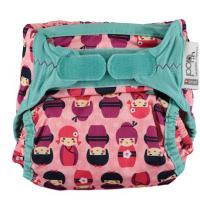 Kokeshi baba mosható pelenka V2-Pop-in