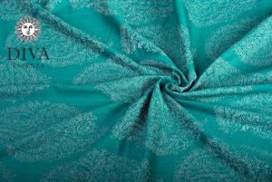 Smeraldo babahordozó kendő-Diva Essenza