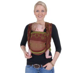 Marrakesch Kiwi hordozókendő-Hoppediz