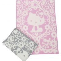 Hello Kitty Gyapjú Babapléd-Klippan