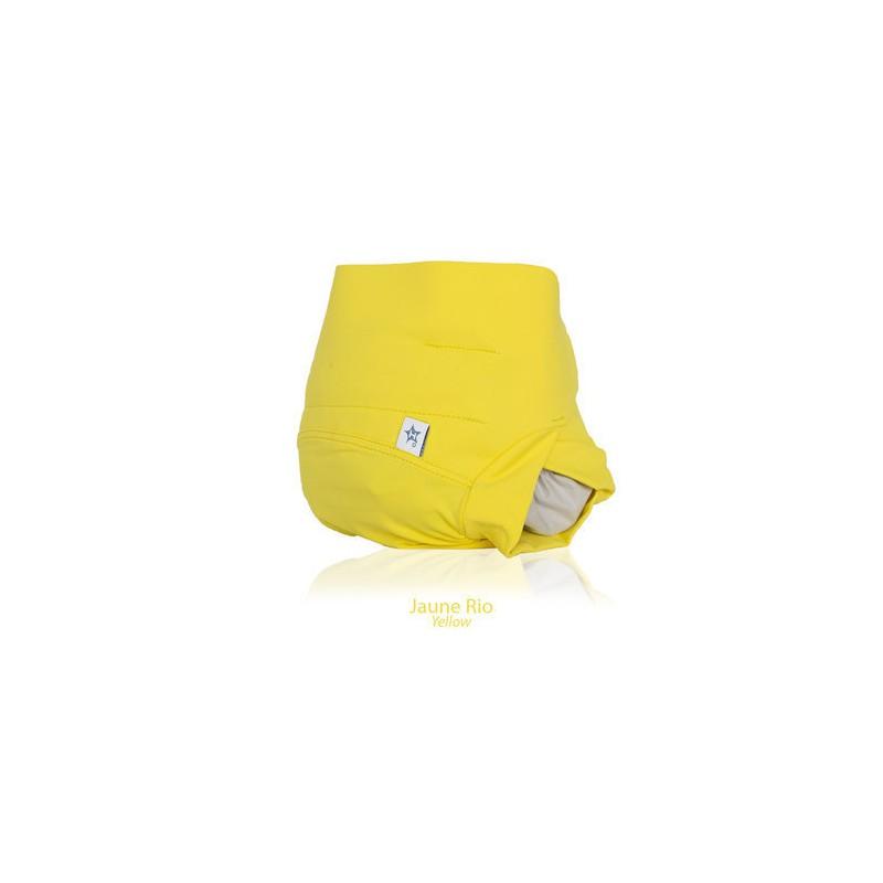 Hamac csónakos mosható pelenka külső sárga