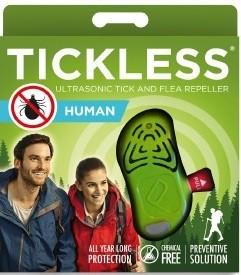 Tickless Ultrahangos kullancsriasztó Felnőtteknek zöld
