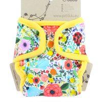 Petit Lulu egyméretes patentos pelenkakülső Blooming garden