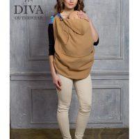 Caramello Diva Milano téli gyapjú hordozós takaró