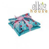 Ella's House Limitált mosható női betét midi türkiz virágos