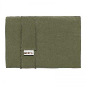 Liliputi rugalmas kendő classic line - olive