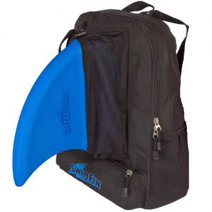 Fekete hátizsák swimfin cápauszonyhoz