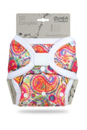 Petit Lulu SIO mosható pelenka Colourful Orient